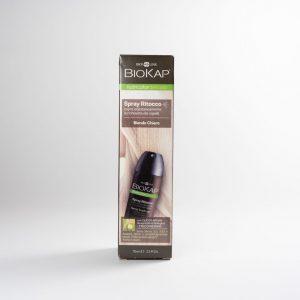 Biokap spray ritocco ricrescita capelli biondo chiaro