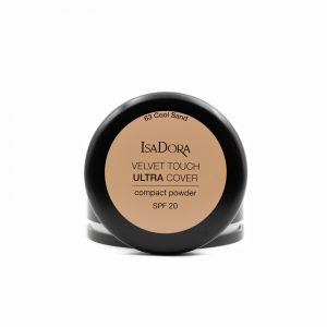 Isadora-Velvet-touch-ultra-cover-compact-powder-spf20-63-cool-sand