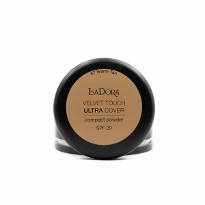 Isadora-Velvet-touch-ultra-cover-compact-powder-spf20-67-warm-tan