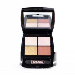 isadora-eye-shadow-fard-quartet-25-rose-glam
