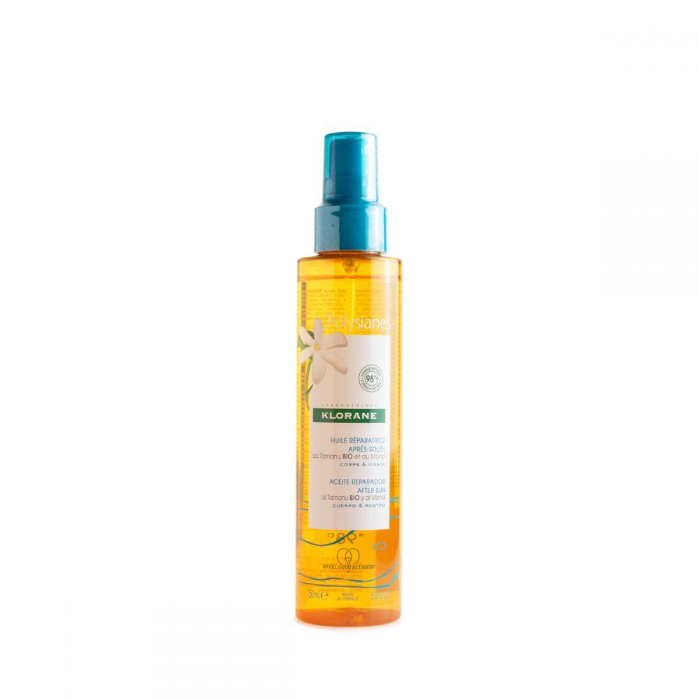 polysianes klorane olio riparatore doposole spray