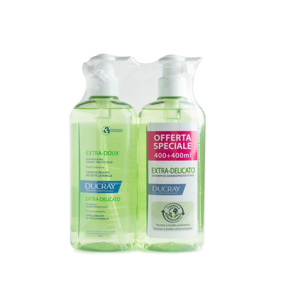 ducray shampoo extra delicato promo 400 400