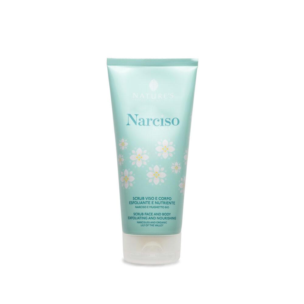 natures scrub viso corpo narciso